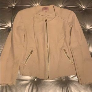Juice couture zip up blazer
